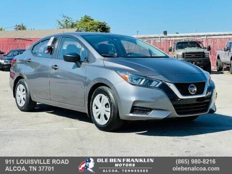 2020 Nissan Versa for sale at Ole Ben Franklin Motors-Mitsubishi of Alcoa in Alcoa TN