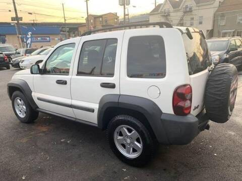 2007 Jeep Liberty for sale at GLOBAL MOTOR GROUP in Newark NJ