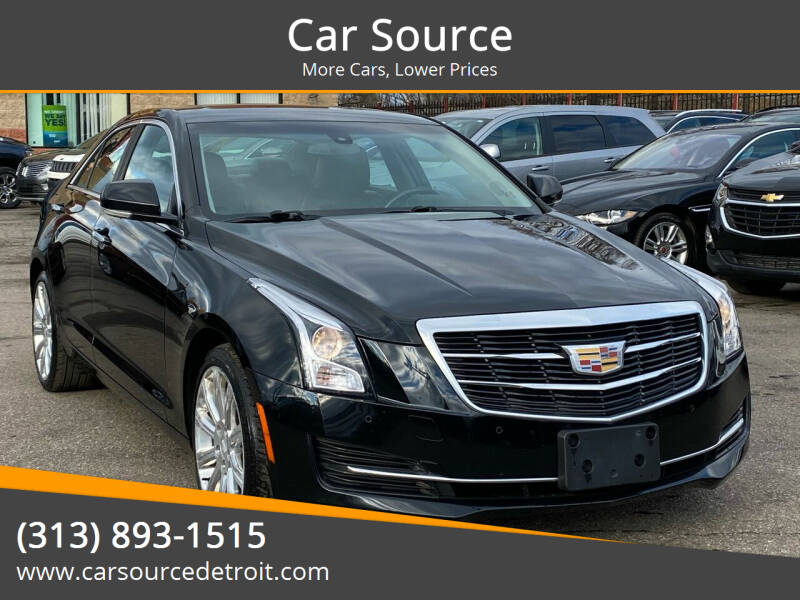 2016 Cadillac ATS for sale at Car Source in Detroit MI