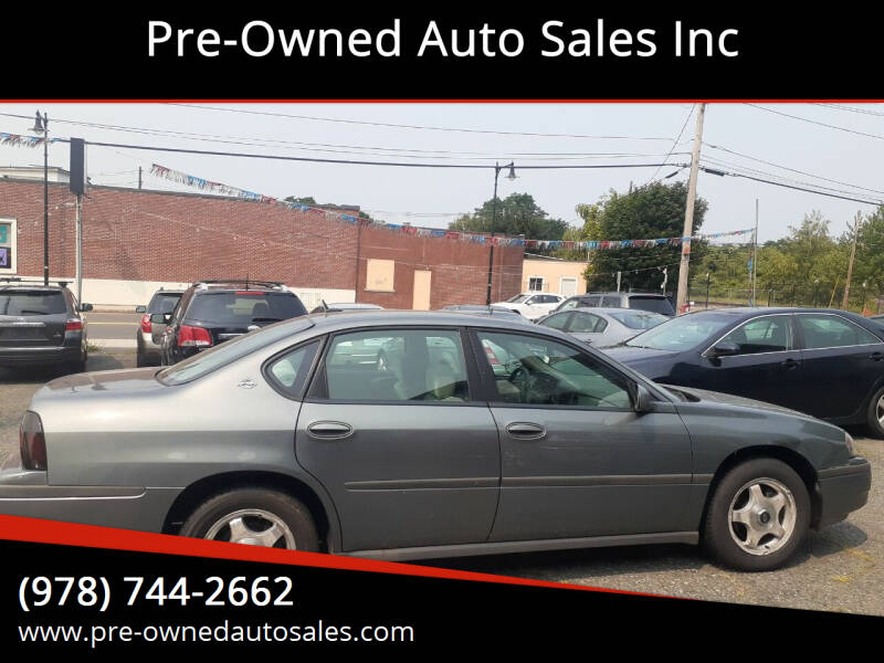 2005 Chevrolet Impala for sale at Pre-Owned Auto Sales Inc in Salem MA