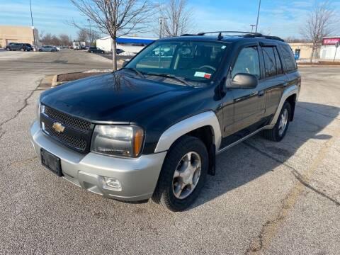 2008 Chevrolet TrailBlazer for sale at TKP Auto Sales in Eastlake OH