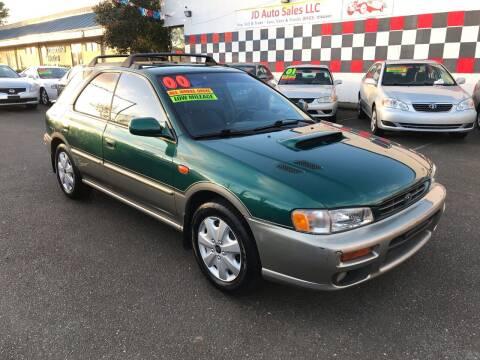 2000 Subaru Impreza for sale at JD Auto Sales LLC in Fife WA