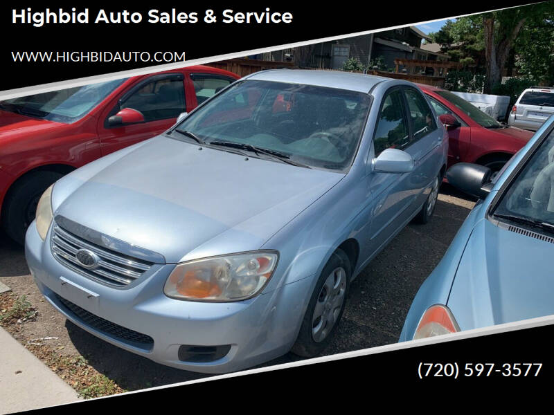 2007 Kia Spectra for sale at Highbid Auto Sales & Service in Lakewood CO