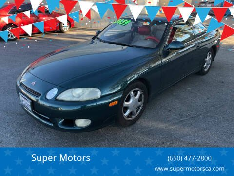 1997 Lexus SC 300 for sale at Super Motors in San Mateo CA
