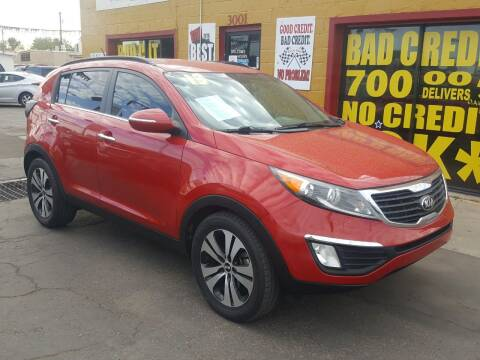 2013 Kia Sportage for sale at Sunday Car Company LLC in Phoenix AZ