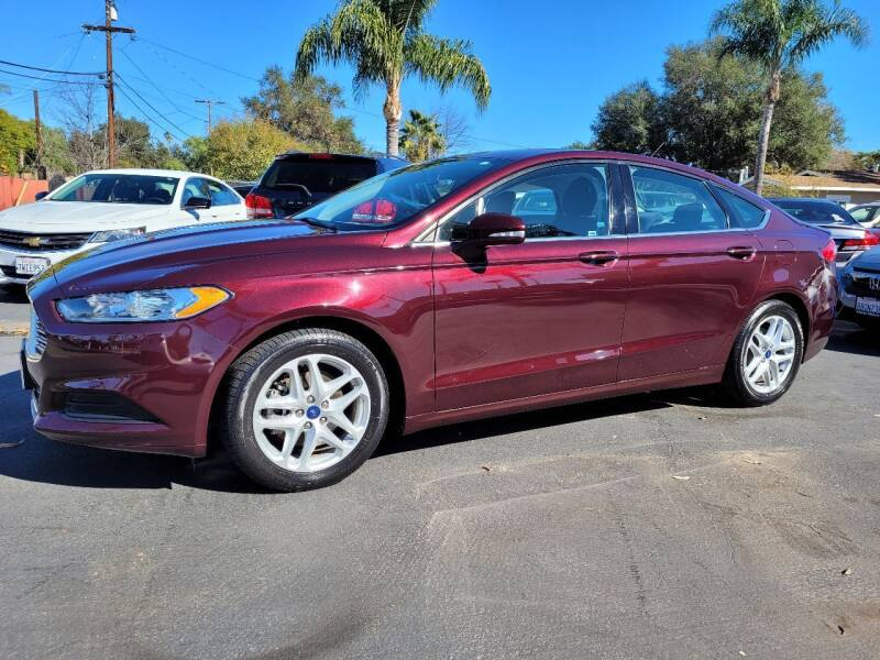 2013 Ford Fusion for sale at Geiman Motors in Escondido CA