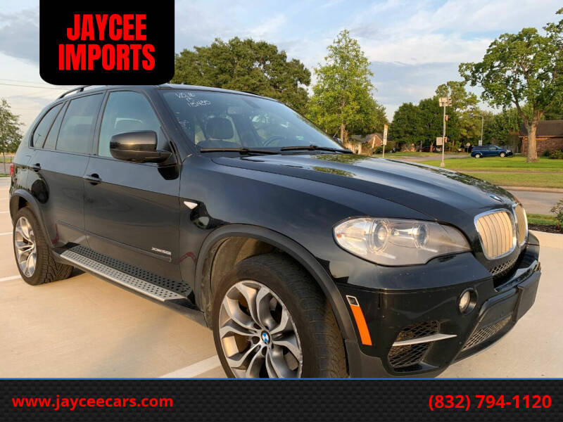 2013 BMW X5 for sale at JAYCEE IMPORTS in Houston TX