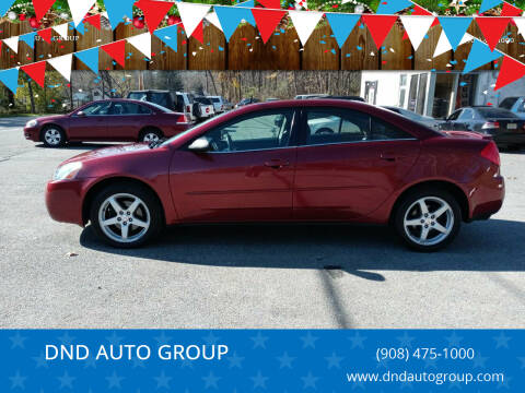 2008 Pontiac G6 for sale at DND AUTO GROUP in Belvidere NJ