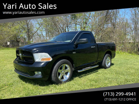 2012 RAM Ram Pickup 1500 for sale at Yari Auto Sales in Houston TX