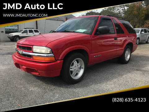 2001 Chevrolet Blazer for sale at JMD Auto LLC in Taylorsville NC