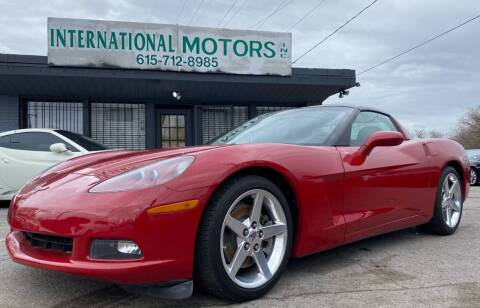 2005 Chevrolet Corvette for sale at International Motors Inc. in Nashville TN