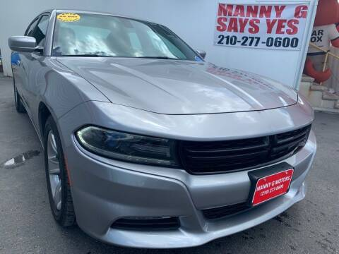 2018 Dodge Charger for sale at Manny G Motors in San Antonio TX