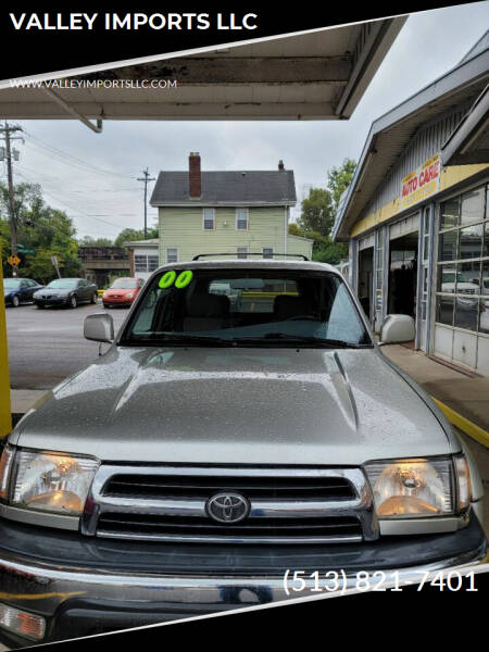 2000 Toyota 4Runner for sale at VALLEY IMPORTS LLC in Cincinnati OH