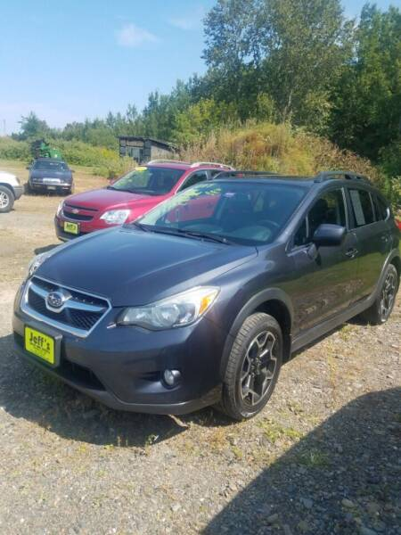 2014 Subaru XV Crosstrek for sale at Jeff's Sales & Service in Presque Isle ME