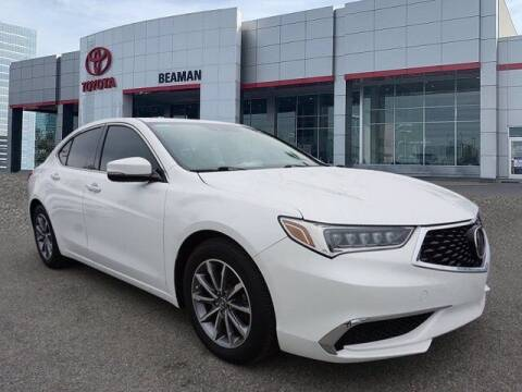 2019 Acura TLX for sale at BEAMAN TOYOTA in Nashville TN
