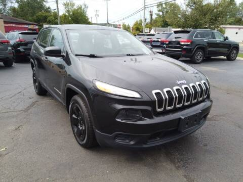 2015 Jeep Cherokee for sale at RS Motors in Falconer NY