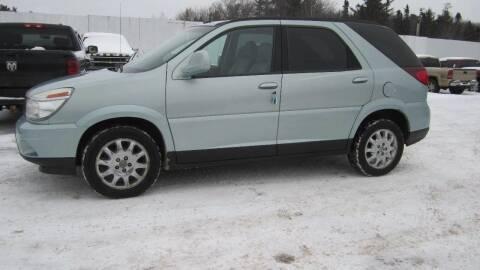 2006 Buick Rendezvous for sale at Superior Auto of Negaunee in Negaunee MI