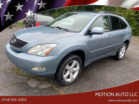 2007 Lexus RX 350 for sale at Motion Auto LLC in Kannapolis NC