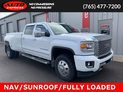 2015 GMC Sierra 3500HD for sale at Auto Express in Lafayette IN