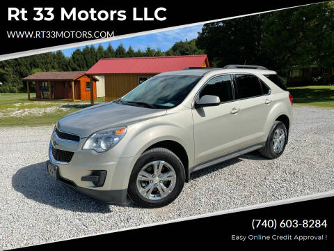 2013 Chevrolet Equinox for sale at Rt 33 Motors LLC in Rockbridge OH