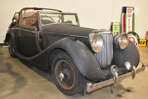 1948 Jaguar MK IV 3.5 for sale at Gullwing Motor Cars Inc in Astoria NY