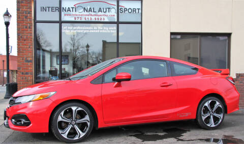 2014 Honda Civic for sale at INTERNATIONAL AUTOSPORT INC in Pompton Lakes NJ