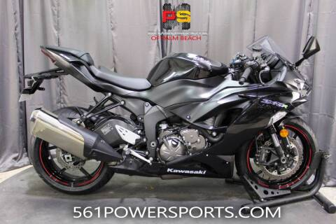 2020 Kawasaki Ninja ZX-6R for sale at Powersports of Palm Beach in Hollywood FL