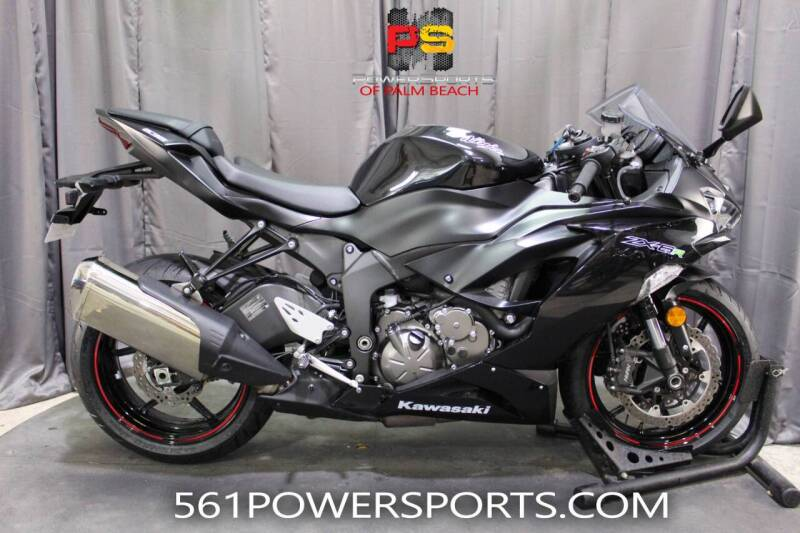 2020 Kawasaki Ninja ZX-6R for sale in Hollywood, FL