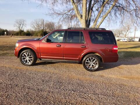 2015 Ford Expedition for sale at CAVENDER MOTORS in Van Alstyne TX