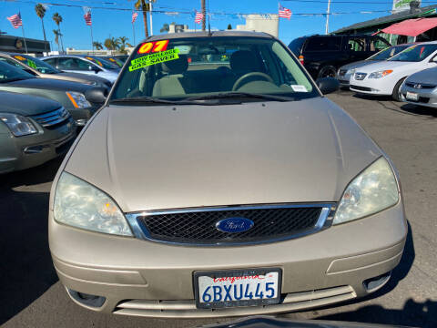 2007 Ford Focus for sale at North County Auto in Oceanside CA