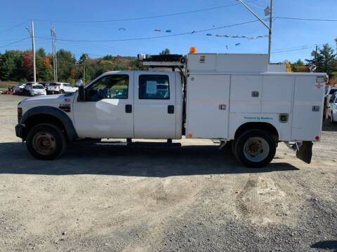 2009 Ford F-550 Super Duty for sale at Upstate Auto Sales Inc. in Pittstown NY