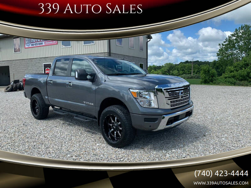 2021 Nissan Titan for sale at 339 Auto Sales in Belpre OH
