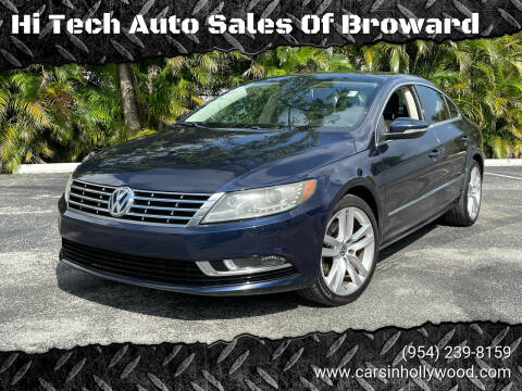 2013 Volkswagen CC for sale at Hi Tech Auto Sales Of Broward in Hollywood FL