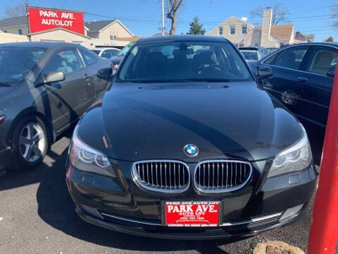 2010 BMW 5 Series for sale at Park Avenue Auto Lot Inc in Linden NJ