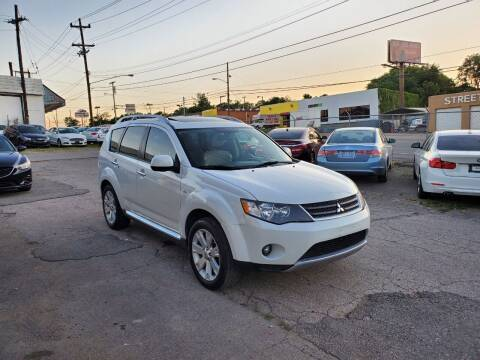 2009 Mitsubishi Outlander for sale at Green Ride Inc in Nashville TN