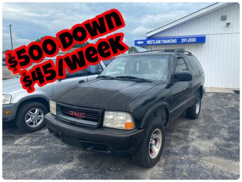 2000 GMC Jimmy for sale at Augusta Motors Inc in Indianapolis IN