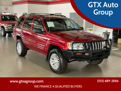2004 Jeep Grand Cherokee for sale at GTX Auto Group in West Chester OH
