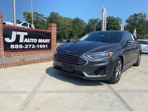 2020 Ford Fusion for sale at J T Auto Group in Sanford NC