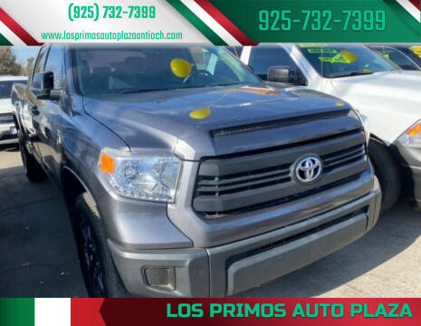2015 Toyota Tundra for sale at Los Primos Auto Plaza in Antioch CA
