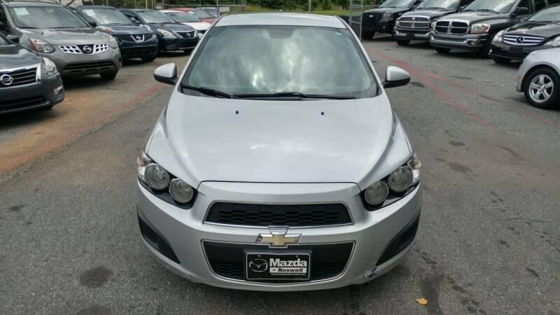 2012 Chevrolet Sonic for sale at Adonai Auto Broker in Marietta GA