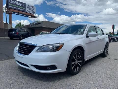 2012 Chrysler 200 for sale at Boise Motorz in Boise ID