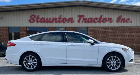 2017 Ford Fusion for sale at STAUNTON TRACTOR INC in Staunton VA