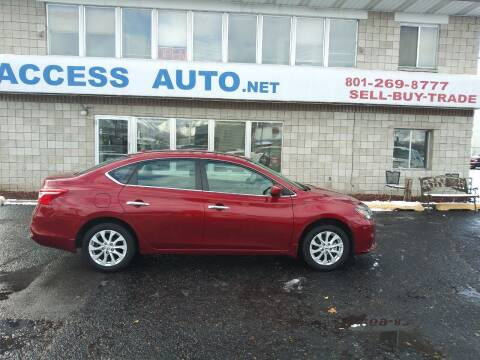 2019 Nissan Sentra for sale at Access Auto in Salt Lake City UT