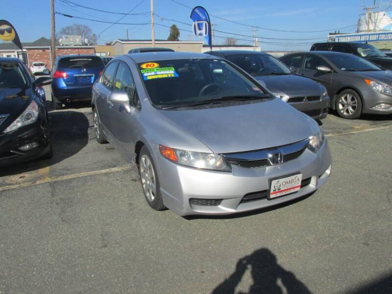 2010 Honda Civic for sale at Omega Auto & Truck Center, Inc. in Salem MA