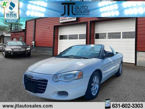 2005 Chrysler Sebring for sale at JTL Auto Inc in Selden NY