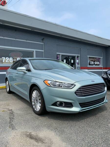 2014 Ford Fusion Hybrid for sale at City to City Auto Sales in Richmond VA
