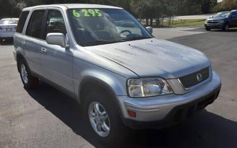 2001 Honda CR-V for sale at Mathews Used Cars, Inc. in Crawford GA