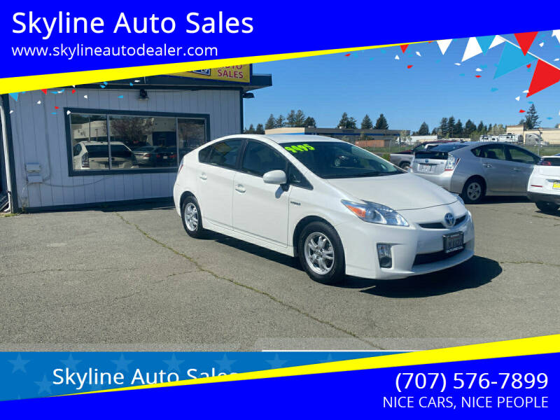 2010 Toyota Prius for sale at Skyline Auto Sales in Santa Rosa CA