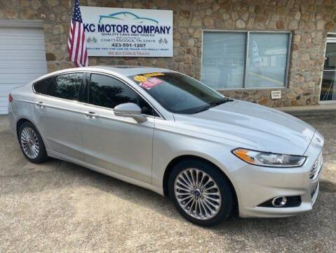 2015 Ford Fusion for sale at KC Motor Company in Chattanooga TN