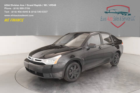 2011 Ford Focus for sale at Elvis Auto Sales LLC in Grand Rapids MI